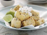 Frittierter Tofu mit Daikon Rezept
