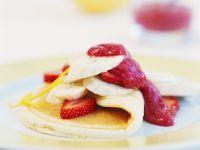 Fruchtig gefüllter Pfannkuchen Rezept