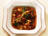 Fruchtige Tomaten-Bohnensuppe Rezept