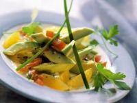 Fruchtiger Avocadosalat Rezept