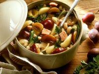 Fruchtiger Bohnen-Kasslereintopf Rezept