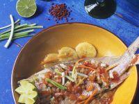 Fruchtiger Fisch Rezept