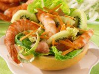Fruchtiger Garnelensalat Rezept