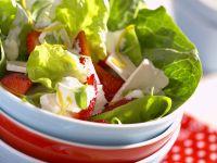 Fruchtiger grüner Salat Rezept