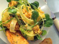 Fruchtiger Linsensalat mit Zucchini