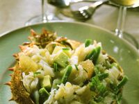 Fruchtiger Seespinnensalat Rezept