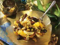Fruchtsalat mit Nüssen Rezept