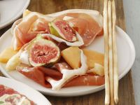 Früchte mit Schinken Rezept