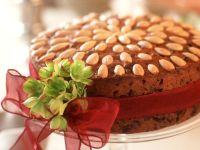 Früchtekuchen mit Mandeln Rezept