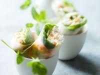 Frühlingsrollen mit Shrimps Rezept