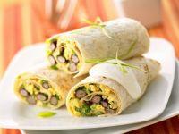 Frühstücks-Burrito Rezept