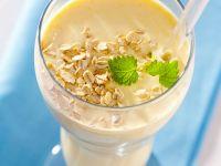Frühstücks-Drink mit Haferflocken Rezept