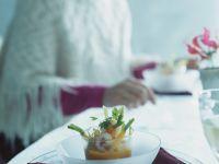 Garnelen-Cocktail mit Möhren Rezept