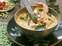 Garnelen-Curry mit Brokkoli und Cashewkernen Rezept