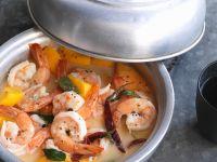 Garnelen-Curry mit Mango Rezept