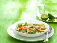 Garnelen-Limetten-Suppe Rezept