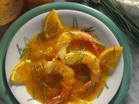 Garnelen mit Orangensauce Rezept