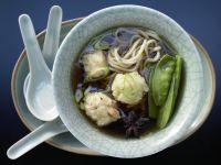 Garnelen-Nudel-Suppe Rezept
