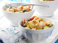 Garnelen-Zucchini-Pfanne Rezept