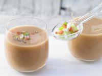 Gazpacho mit Weißbrot Rezept