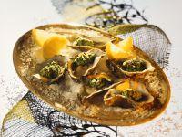 Gebackene Austern Rezept