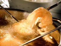 Gebackene Garnelen mit Senf- und Pilz-Dip Rezept