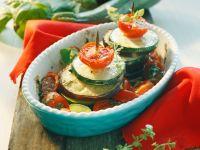 Gebackene Gemüse-Spieße Rezept