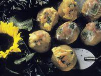 Gebackene Kartoffeln mit zwei Füllungen Rezept