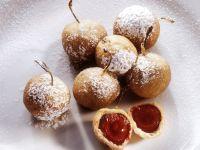 Gebackene Kirschen im Teigmantel Rezept