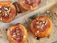 Gebackene Zimt-Pfirsiche Rezept