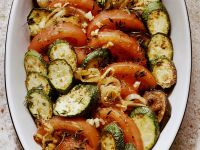 Gebackener Reis mit Gemüse Rezept