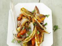 Gebackenes Gemüse mit Zimtaroma Rezept