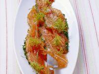 Gebeizter Lachs mit Dill Rezept