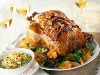 Gebratene Ente mit Gemüse Rezept