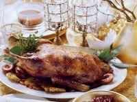 Gebratene Ente mit Rotkohl Rezept