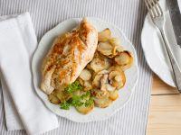 Gebratene Hähnchenbrust mit Brat-Topinambur Rezept