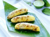 Gebratene Kokos-Bananen