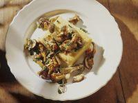 Gebratene Pilze mit Polenta Rezept