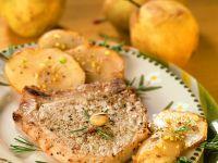 Gebratene Schweinekoteletts mit Kartoffeln Rezept