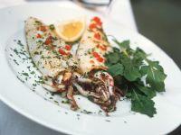 Gebratene Tintenfische Rezept