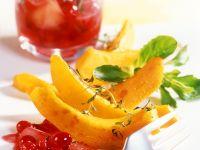 Gebratener Kürbis mit Cranberries Rezept