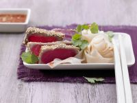 Gebratener Sesam-Thunfisch Rezept
