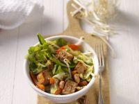 Gebratener Tofu mit gemischtem Gemüse Rezept