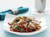 Gebratenes Gemüse mit Tofu aus dem Wok Rezept