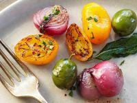 Gebratenes mediterranes Gemüse Rezept