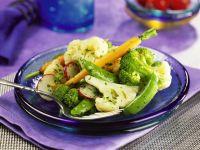 Gedämpftes Gemüse Rezept