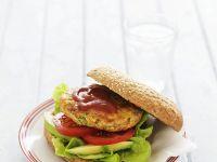 Geflügel-Gemüse-Burger Rezept