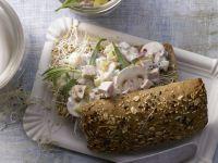 Geflügelsalat-Brötchen Rezept