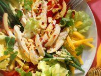 Geflügelsalat mit Gemüse Rezept