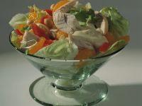 Geflügelsalat mit Mandarinen Rezept